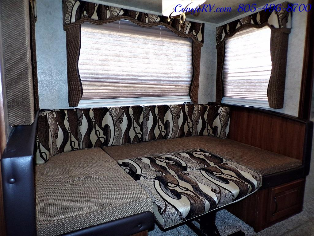2014 Keystone Cougar 21RBS Slide Out Travel Trailer - Photo 10 - Thousand Oaks, CA 91360