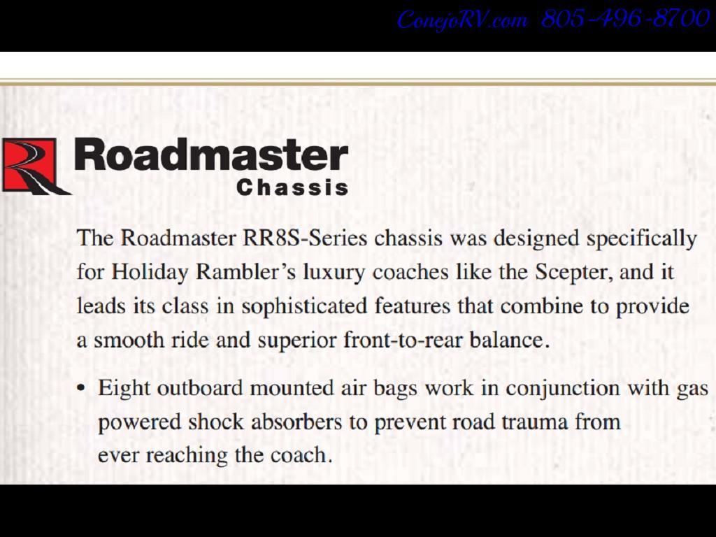 2005 Monaco Holiday Rambler Scepter 38PDQ 400hp 27k Miles - Photo 40 - Thousand Oaks, CA 91360