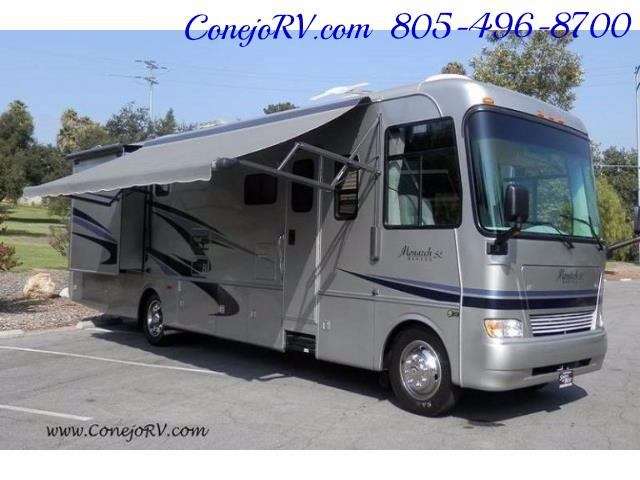 2006 Monaco Monarch 37PCT 3-Slide Big Chassis Full Paint 32k M - Photo 31 - Thousand Oaks, CA 91360