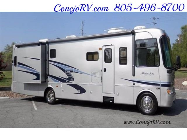 2006 Monaco Monarch 37PCT 3-Slide Big Chassis Full Paint 32k M - Photo 3 - Thousand Oaks, CA 91360