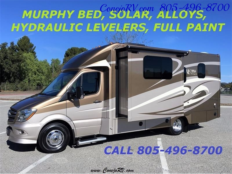 2017 Renegade RV Vienna 25MBS MURPHY BED Slide-Out Full Body Paint - Photo 41 - Thousand Oaks, CA 91360