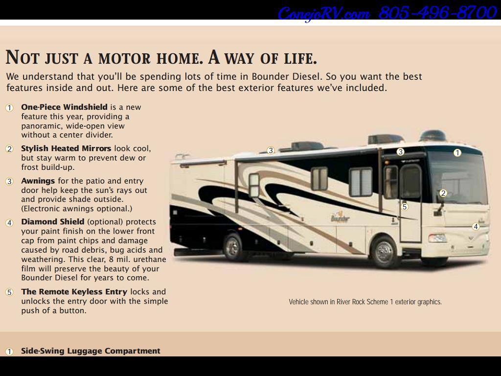 2008 Fleetwood Bounder 38F 325hp Diesel Pusher 3-Slide 1.5 Bath - Photo 48 - Thousand Oaks, CA 91360