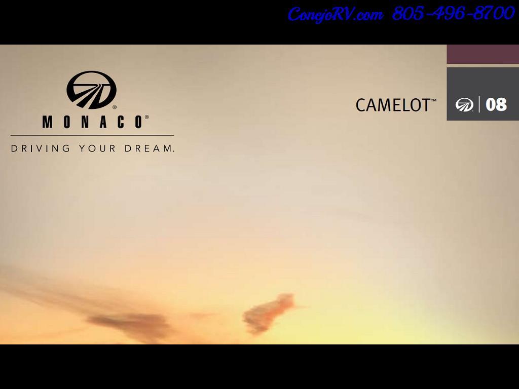 2008 Monaco Camelot 42PDQ Quad Slide Tag Axle 400hp - Photo 39 - Thousand Oaks, CA 91360
