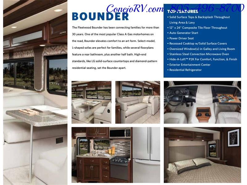 2017 Fleetwood Bounder LX 36X 3-Slide Big Chassis Full Body Paint - Photo 56 - Thousand Oaks, CA 91360
