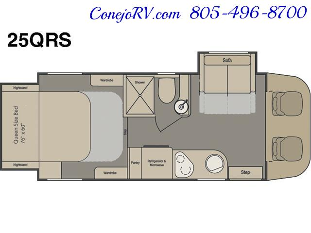2016 Renegade RV Villagio 25QRS 2-Slide-Out Full Body Paint Diesel - Photo 33 - Thousand Oaks, CA 91360