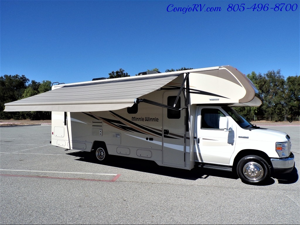 2017 Winnebago Minnie Winnie 27Q Ford E-450 Slide Out - Photo 37 - Thousand Oaks, CA 91360