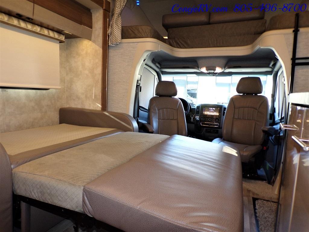 2019 Winnebago Navion 24V Slide Out Cab Over Loft Bed Mercedes Turbo