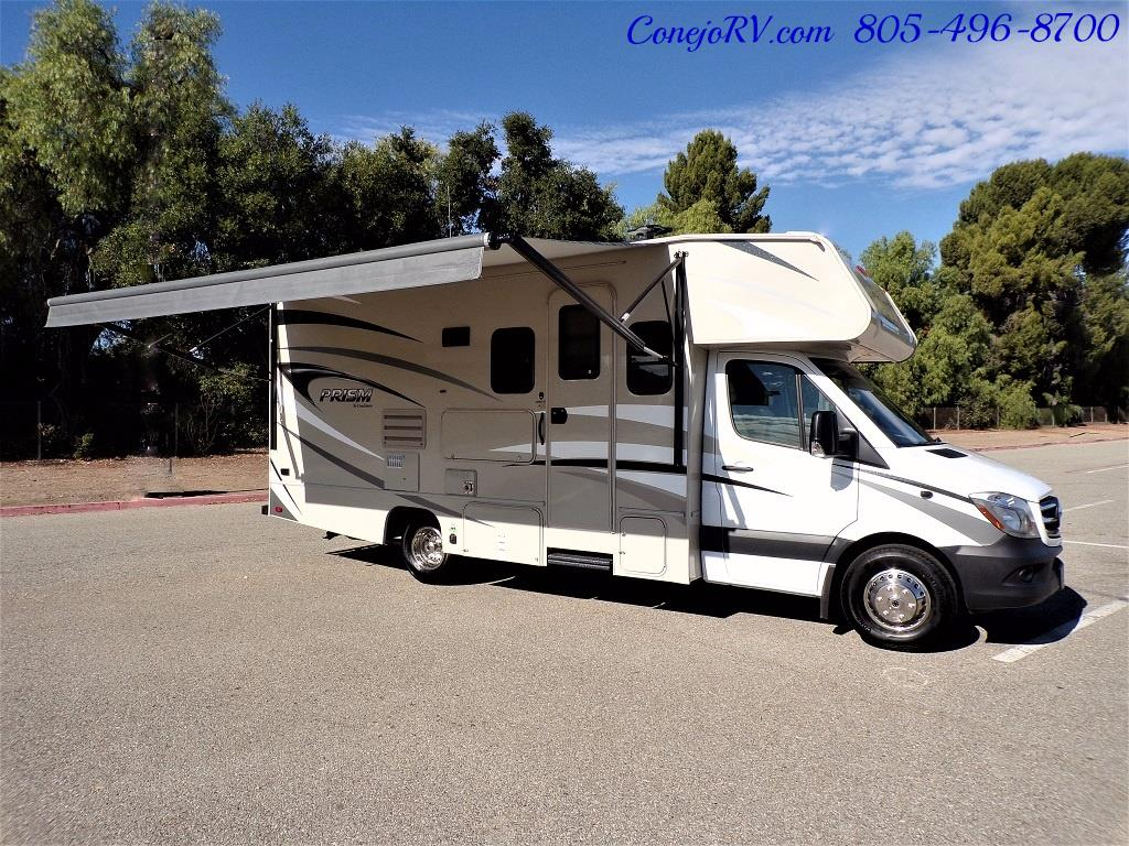 2018 Coachmen Prism 2200FS Full Wall Slide Mercedes Turbo Diesel - Photo 44 - Thousand Oaks, CA 91360