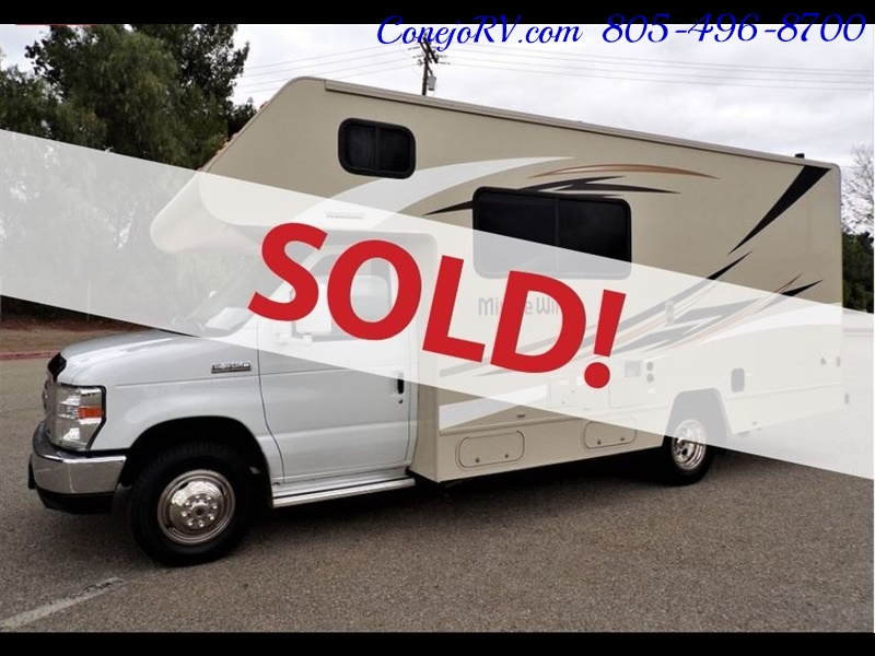 2017 Winnebago Minnie 22R Ford E-350 - Photo 1 - Thousand Oaks, CA 91360