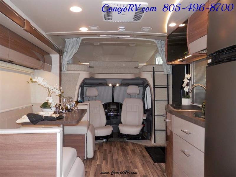 2017 Winnebago Itasca Navion 24J Slide-Out Full Body Paint Diesel - Photo 22 - Thousand Oaks, CA 91360