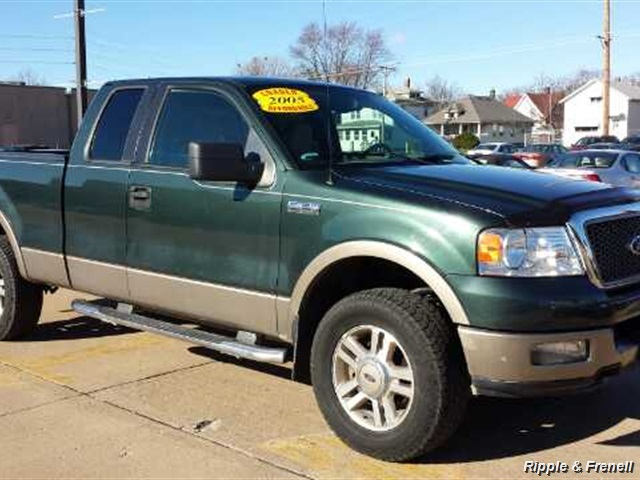 2005 ford f 150 lariat 4dr supercab lariat. Black Bedroom Furniture Sets. Home Design Ideas
