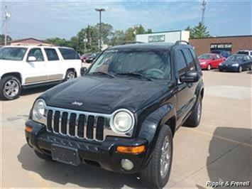 2004 Jeep Liberty Limited SUV
