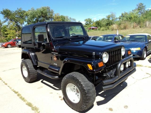 1997 jeep wrangler sahara for sale in cincinnati oh stock 10380. Black Bedroom Furniture Sets. Home Design Ideas