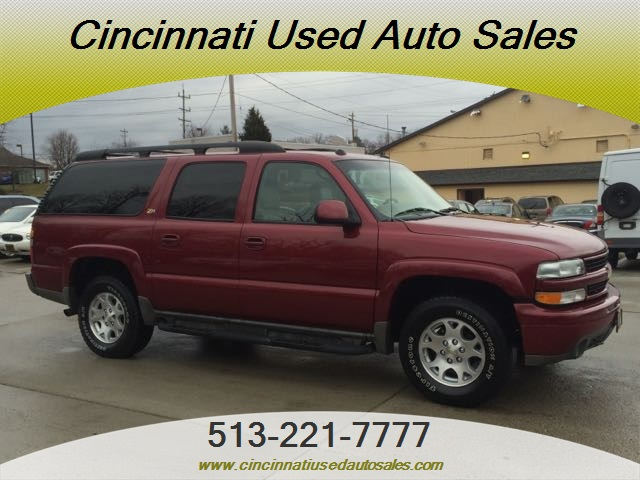2004 chevrolet suburban 1500 for sale in cincinnati oh. Black Bedroom Furniture Sets. Home Design Ideas