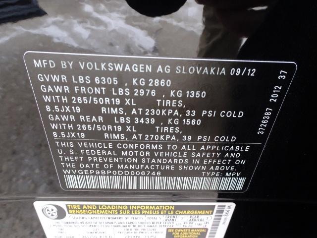 2013 Volkswagen Touareg TDI Lux - Photo 25 - Cincinnati, OH 45255