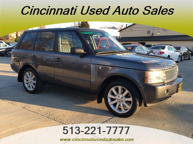 2006 land rover range rover supercharged 4dr suv for sale. Black Bedroom Furniture Sets. Home Design Ideas