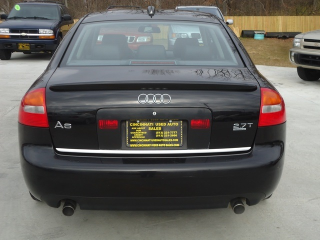 2004 Audi A6 2 7t S Line Quattro For Sale In Cincinnati