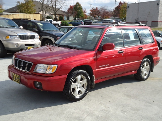 2001 forester s
