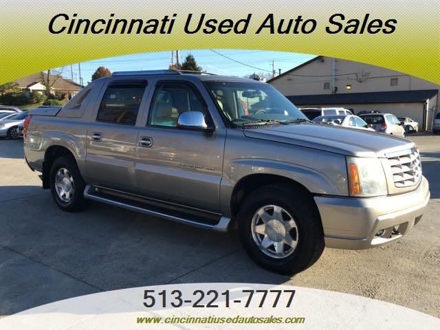 Escalade Ext For Sale >> 2002 Cadillac Escalade Ext For Sale In Cincinnati Oh Stock 12520
