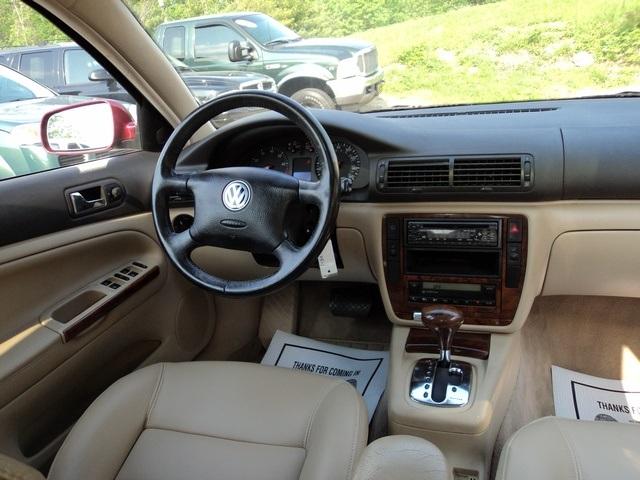 2000 volkswagen passat glx v6 for sale in cincinnati oh stock 10625 for Volkswagen passat 2000 interior