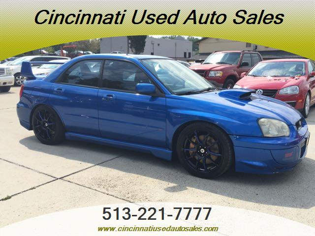 2004 subaru impreza wrx sti for sale in cincinnati oh stock tr10352 2004 subaru impreza wrx sti for sale in