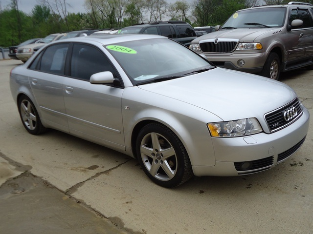 2004 audi a4 1 8t quattro for sale in cincinnati oh stock 10938. Black Bedroom Furniture Sets. Home Design Ideas
