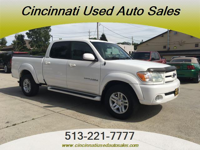 2005 Toyota Tundra Limited 4dr Double Cab Limited - Photo 1 - Cincinnati, OH 45255
