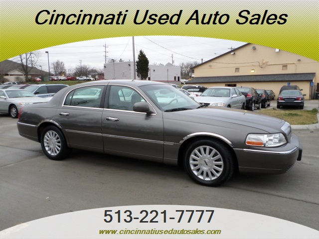 2003 Lincoln Town Car Signature For Sale In Cincinnati Oh Stock