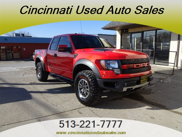 2010 Ford F 150 Svt Raptor For Sale In Cincinnati Oh Stock 13213