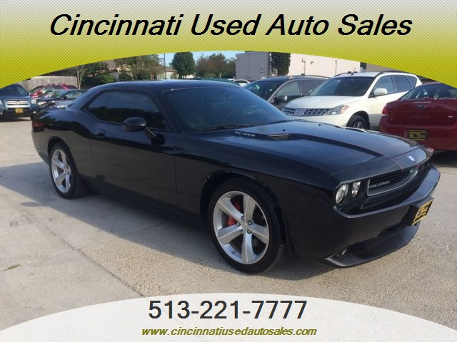 2010 dodge challenger srt8 for sale in cincinnati oh stock 12044. Black Bedroom Furniture Sets. Home Design Ideas