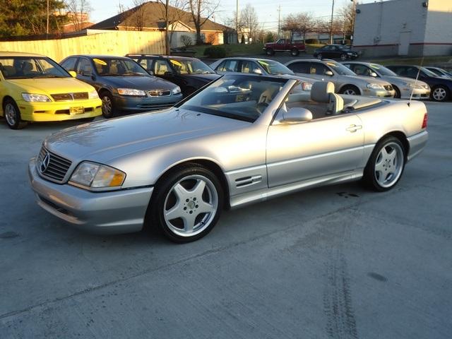 1999 mercedes benz sl500 for sale in cincinnati oh for Used mercedes benz for sale in cincinnati
