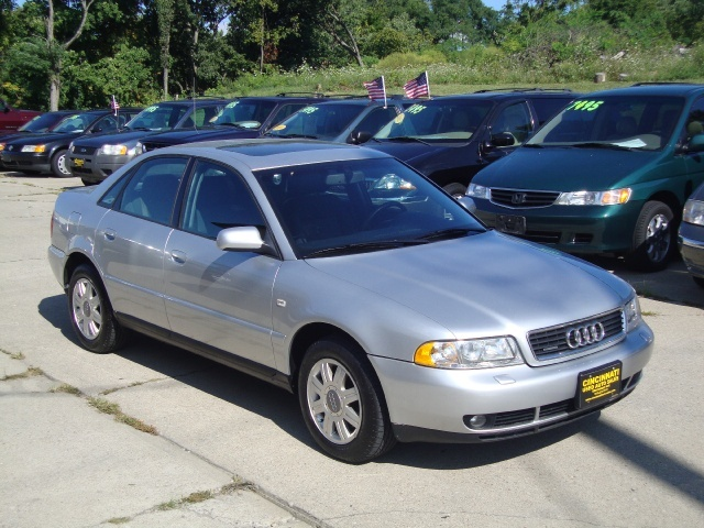 2001 audi a4 1 8t quattro for sale in cincinnati oh stock 10053. Black Bedroom Furniture Sets. Home Design Ideas