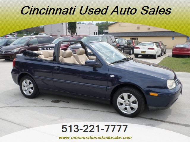 2001 volkswagen cabrio glx for sale in cincinnati oh stock 11480 2001 volkswagen cabrio glx for sale in
