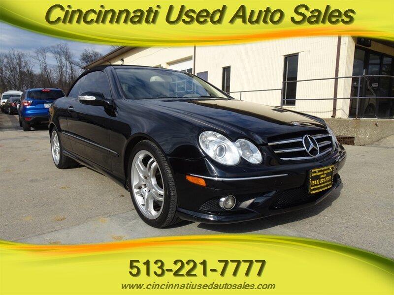 2008 Mercedes Benz Clk 550 For Sale In Cincinnati Oh Stock 13620