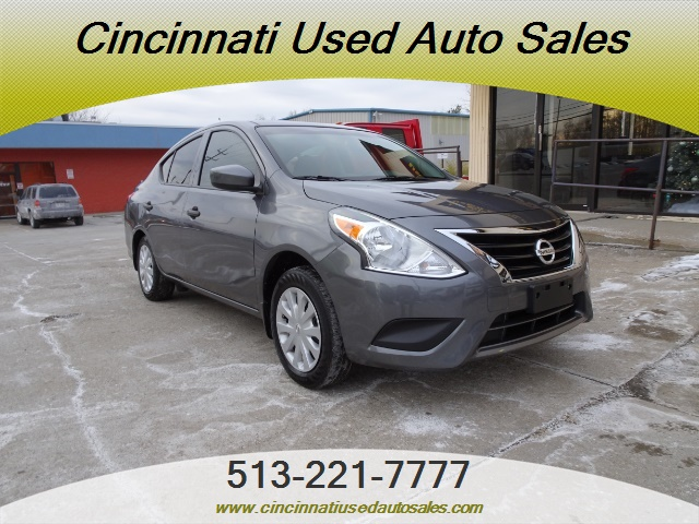 2016 nissan versa 1 6 s for sale in cincinnati oh stock 13170. Black Bedroom Furniture Sets. Home Design Ideas