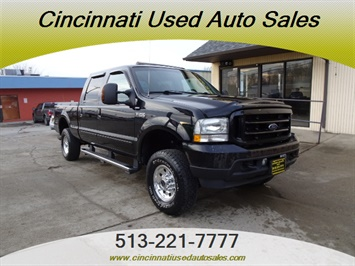 2004 Ford F-250 Super Duty Lariat 4dr Crew Cab Truck