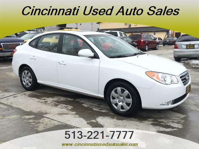 2008 hyundai elantra gls for sale in cincinnati oh stock 12210. Black Bedroom Furniture Sets. Home Design Ideas