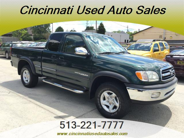 2000 toyota tundra sr5 4dr sr5 v8 for sale in cincinnati oh stock 12442. Black Bedroom Furniture Sets. Home Design Ideas