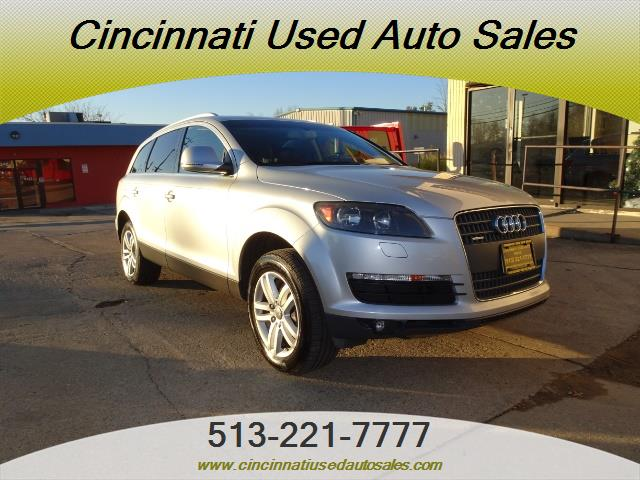 2009 audi q7 3 6 quattro for sale in cincinnati oh stock 13133. Black Bedroom Furniture Sets. Home Design Ideas