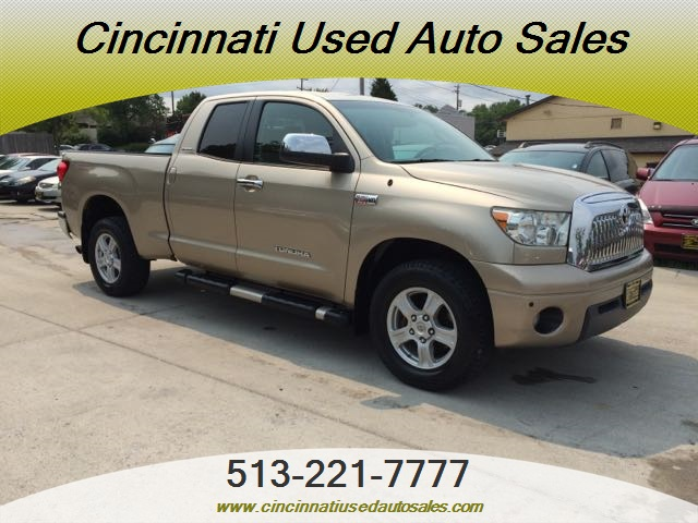 2007 toyota tundra trd limited for sale in cincinnati oh stock 11985. Black Bedroom Furniture Sets. Home Design Ideas
