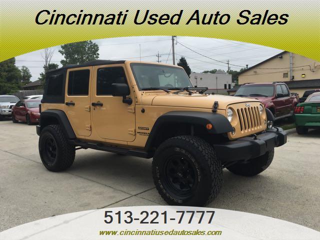 2014 Jeep Wrangler Unlimited Sport - Photo 1 - Cincinnati, OH 45255