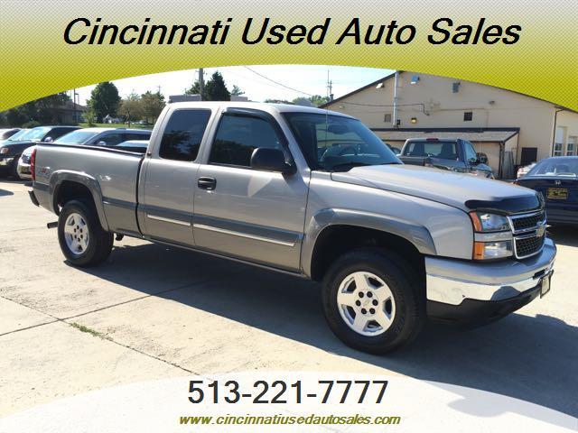2006 Chevrolet Silverado 1500 Work Truck 4dr Extended Cab: 2006 Chevrolet Silverado 1500 LT1 4dr Extended Cab For