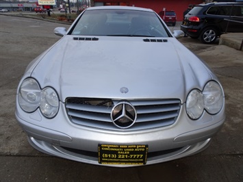 2003 Mercedes-Benz SL 500 Convertible