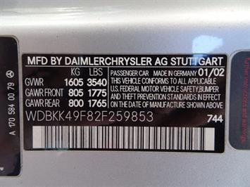 2002 Mercedes-Benz SLK SLK 230 Kompressor - Photo 24 - Cincinnati, OH 45255