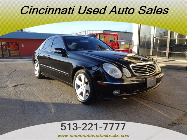 2005 mercedes benz e 500 4matic for sale in cincinnati oh stock 13144. Black Bedroom Furniture Sets. Home Design Ideas
