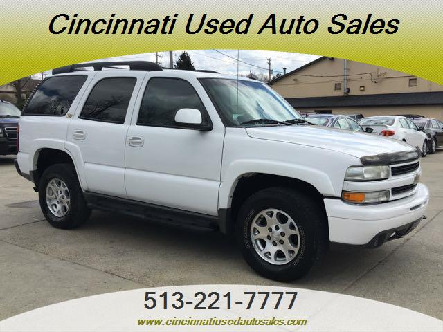 2003 chevrolet tahoe lt z71 for sale in cincinnati oh stock 12730. Black Bedroom Furniture Sets. Home Design Ideas