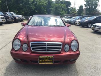 2001 Mercedes-Benz CLK 320 Convertible