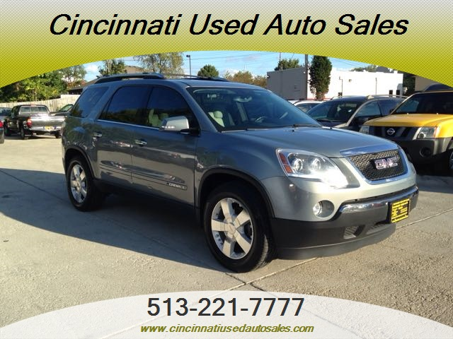 2007 gmc acadia slt 2 for sale in cincinnati oh stock. Black Bedroom Furniture Sets. Home Design Ideas