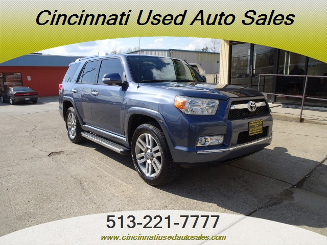 2011 Toyota 4Runner Limited For Sale >> 2011 Toyota 4runner Limited For Sale In Cincinnati Oh