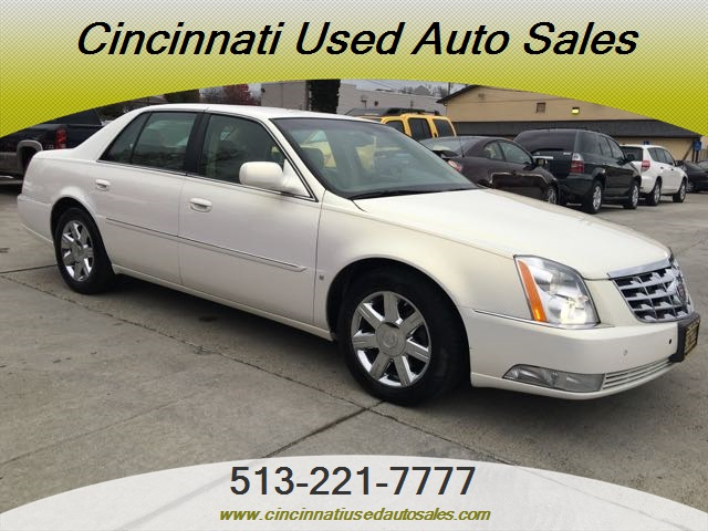 2006 cadillac dts dts luxury i for sale in cincinnati oh stock 12113. Black Bedroom Furniture Sets. Home Design Ideas